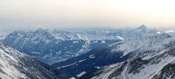 Landscapes series - alps Stock Photo