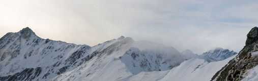 Landscapes series - alps Stock Image
