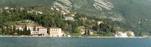 Landscapes series - garda lake Royalty Free Stock Image