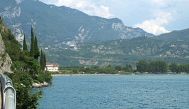 Landscapes series - garda lake Stock Photography