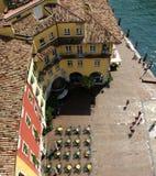 Street - Riva del garda Italy Stock Photography