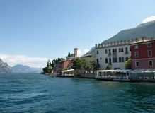 Landscapes series - Garda lake Royalty Free Stock Photos