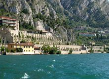Limone - Riva del Garda lake Stock Photos