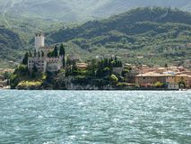 Landscapes series - Riva del garda Royalty Free Stock Images
