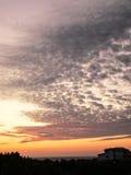 Landscapes. The sky stock photo