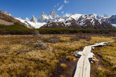 Landscapes of South Argentina. Fitz Roy. Stock Photography