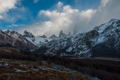 Landscapes of South Argentina, in the Fitz Roy trail Royalty Free Stock Photos