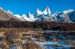 Landscapes of South Argentina, in the Fitz Roy trail Stock Photo