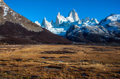 Landscapes of South Argentina, in the Fitz Roy trail Stock Images