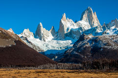 Landscapes of South Argentina, in the Fitz Roy trail Stock Photos