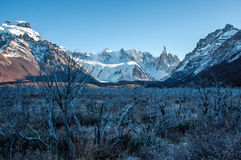 Landscapes of South Argentina, in the Fitz Roy trail Stock Image