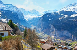 The landscapes of Switzerland Stock Photos