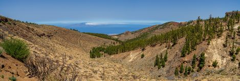 Landscapes of Tenerife. Canary Islands. Spain. stock image