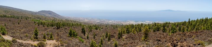 Landscapes of Tenerife. Canary Islands. Spain. royalty free stock image