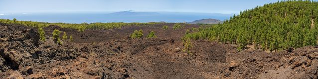 Landscapes of Tenerife. Canary Islands. Spain. royalty free stock photography