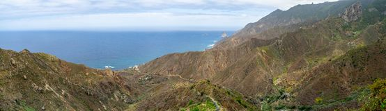 Landscapes of Tenerife. Canary Islands. Spain. royalty free stock photos