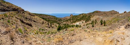 Landscapes of Tenerife. Canary Islands. Spain. stock photos