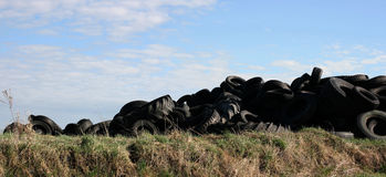 Landscapes tires Royalty Free Stock Photography