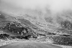Landscapes on Transalpina, Romania Royalty Free Stock Photos
