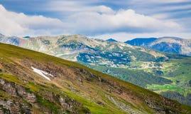 Landscapes on Transalpina, Romania Royalty Free Stock Photo