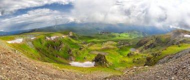 Landscapes on Transalpina, Romania Stock Photos