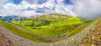 Landscapes on Transalpina, Romania Royalty Free Stock Photography