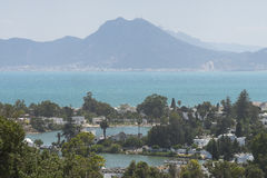 Landscapes in Tunis Royalty Free Stock Photo