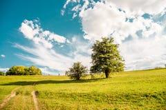 Landscapes of Ukraine. Baranivka village Stock Photo