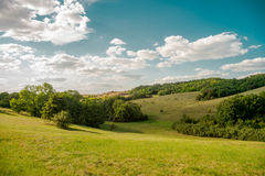 Landscapes of Ukraine. Stock Photo
