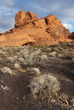 Landscapes, Valley of Fire State Park, Nevada Royalty Free Stock Photography