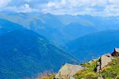Landscapes and views of Krasnaya Polyana, Sochi. Stock Photos
