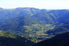 Landscapes of the Vosges, France Stock Photography