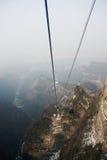 Landscapesikt av tien som är mansan på zhangjiajie Royaltyfri Foto