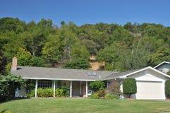 landscaping дома Стоковое Изображение RF