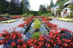 landscaping итальянки сада Стоковое Изображение RF