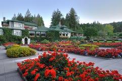 landscaping итальянки сада Стоковые Изображения RF