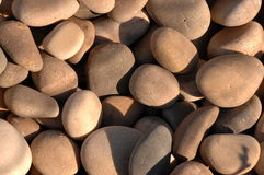 landscaping камни реки Стоковое Изображение RF