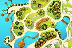 landscaping проект Стоковое Изображение RF