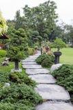 landscaping сада путь сада Стоковая Фотография RF