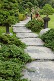 landscaping сада путь сада Стоковые Изображения