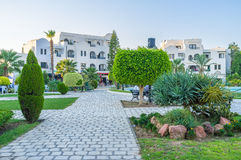 Landscaping of Al Kantaoui Royalty Free Stock Photo