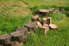 Landscaping blocks Stock Photos