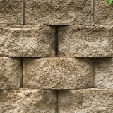Straight view of landscaping brick texture stock photos