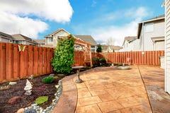 Landscaping design idea. Royalty Free Stock Photo