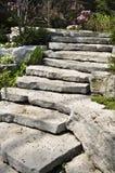landscaping natural stone Στοκ Φωτογραφία