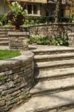 landscaping natural stone Στοκ εικόνα με δικαίωμα ελεύθερης χρήσης