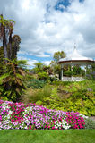 Landscaping near Rotorua Bath House/Museum. This image shows the Landscaping near Rotorua Bath House/Museum Stock Images
