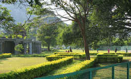 Landscaping  in a park Stock Photography