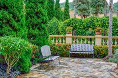 Landscaping Stock Image