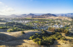 Landscaping view of San Louise Obispo , California, USA. Landscaping view of San Louise Obispo, California. View from King Trail at Irish natural reserve stock photo